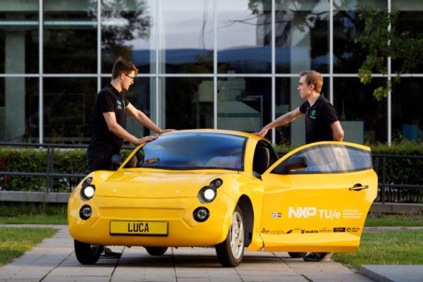 duurzame auto Luca van TUecomotive